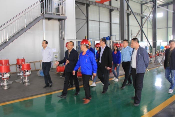 青岛高新区工委书记王作安莅临指导调研重点产业项目发展情况