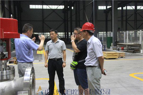 中国航天科技集团公司领导莅临奥科指导